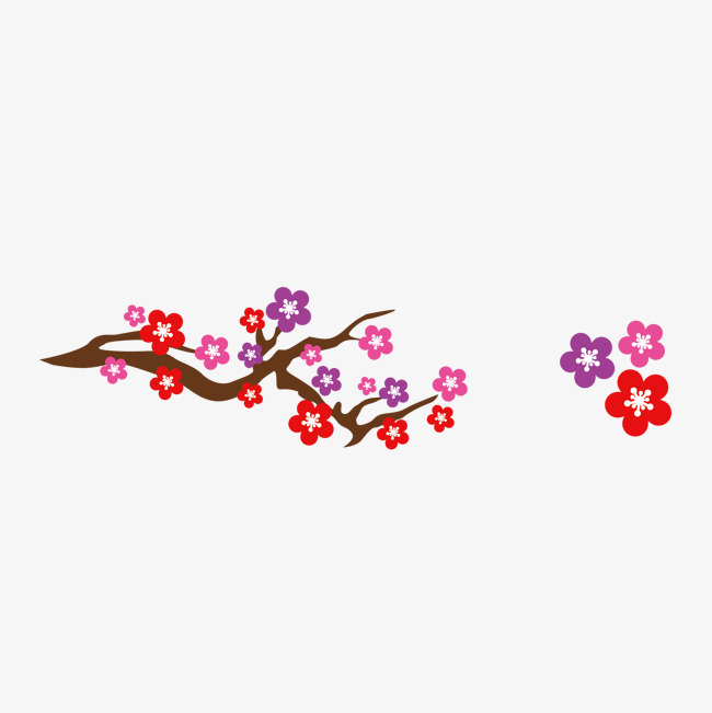 650x651 Vector Japanese Cherry Blossoms, Vector, Japan, Cherry Blossoms
