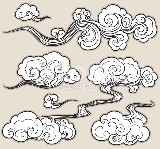 Japanese Cloud Vector