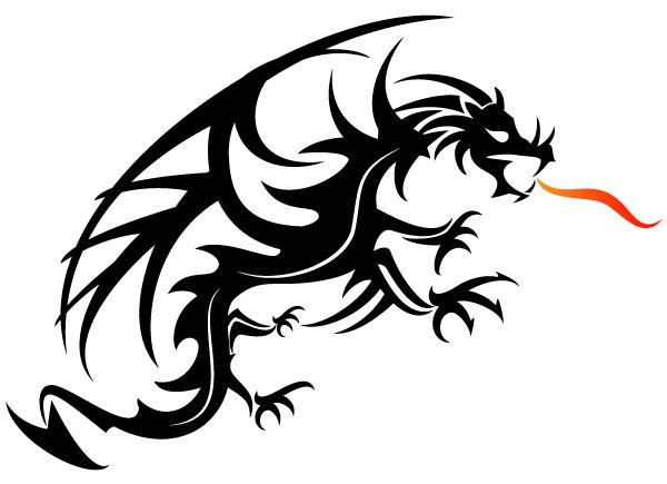 600x435 Japanese Dragon Clip Art Download Now Free Dragon Vector Art