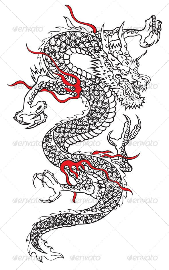 590x944 Japanese Dragon Japanese Dragon, Dragons And Japanese
