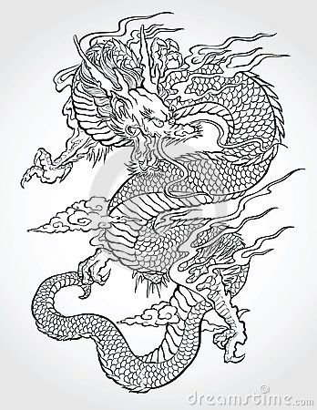 348x450 Chinese Dragon Vector Stock Photos, Images, Amp Pictures (2,375