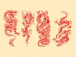 267x200 Japanese Dragon Free Vector Graphic Art Free Download (Found 1,358