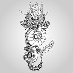 240x240 Traditional Chinese Dragon Vector Photos, Royalty Free Images