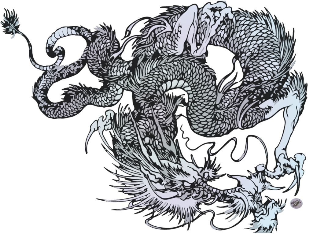 1024x765 Collection Of Free Vector Dragon Japanese. Download On Ubisafe