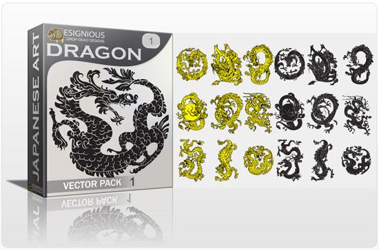 550x364 Dragon Vector Pack Japanese Dragon Tattoo Royalty Free Vector