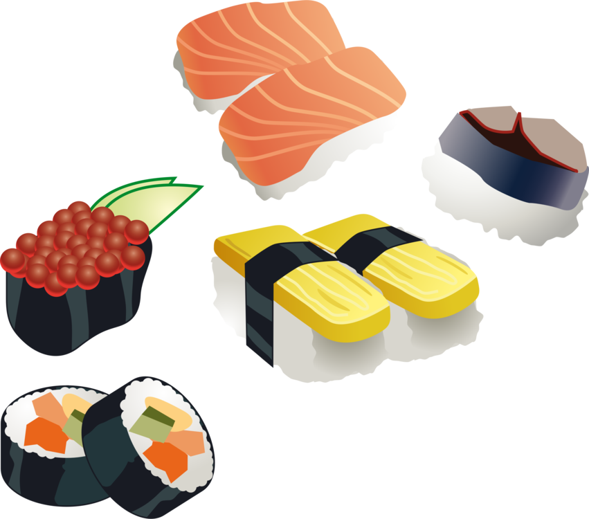 851x750 Collection Of Free Sushi Vector Face. Download On Ubisafe