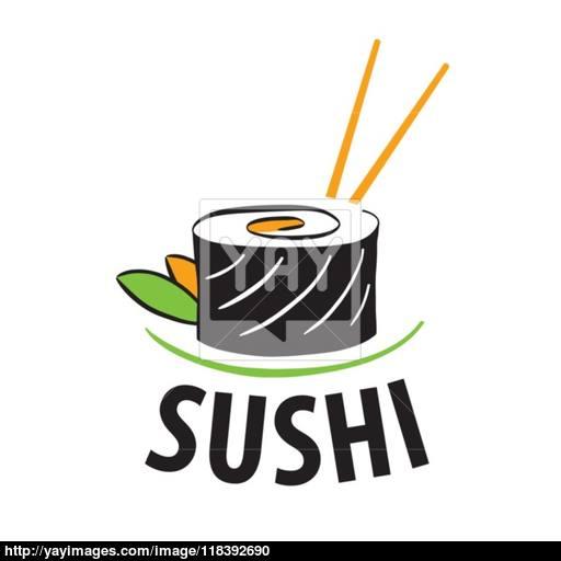 512x512 Vector Logo Japanese Food Sushi Vector