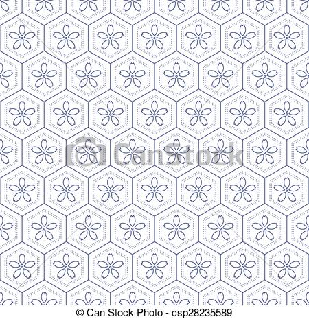 450x465 Seamless Japanese Pattern. Japanese Geometric Seamless Pattern