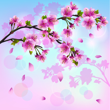 369x368 Cherry Blossom Tree Vector Free Vector Download (6,053 Free Vector