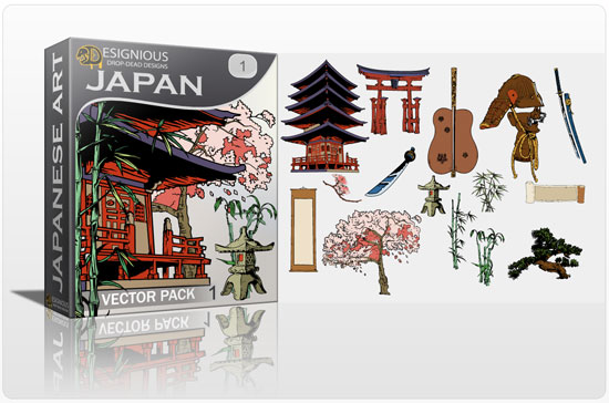 550x364 Japanese Vector Pack Japanese Vector Royalty Free Japanese