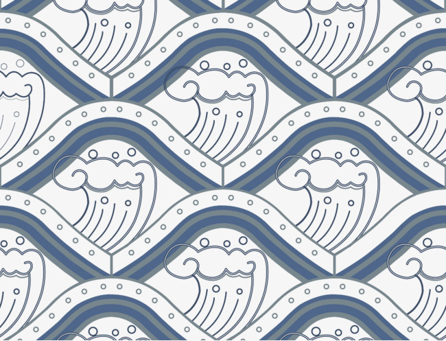 650x497 Japanese Wave Shading, Wave Vector, Wave, Wave Png And Vector For