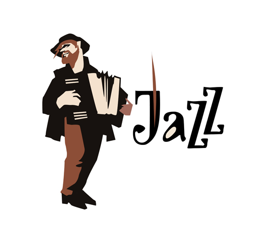 500x470 Musicians With Jazz Music Vector Material 11 Free Download