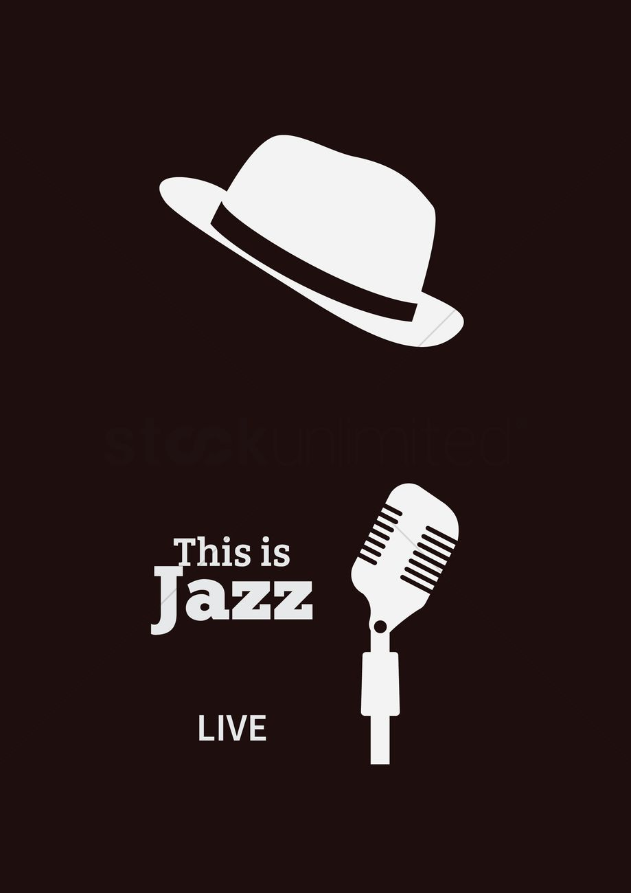 919x1300 This Is Jazz Vector Image