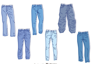 352x247 Free Blue Jeans Vector Free Vector Download 412991 Cannypic