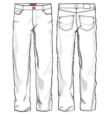 380x400 Jeans Vector 543889.jpg Proyectos Que Intentar