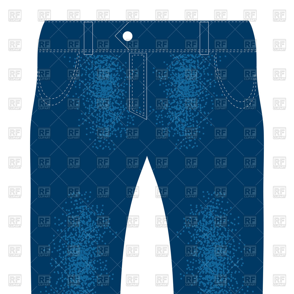 1200x1200 Blue Cotton Jeans Vector Image Vector Artwork Of Beauty, Fashion