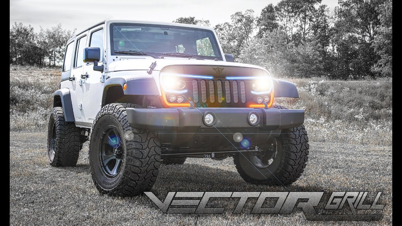 1280x720 Oracle Lighting Series Grill For The Jeep Wrangler Jk