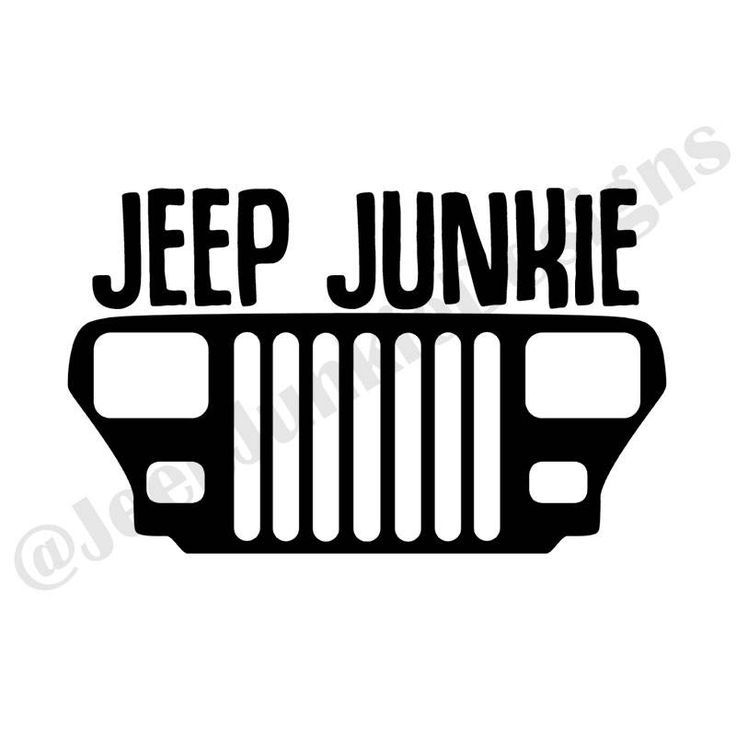 736x736 A Cheap Jeep Junkie Wrangler Yj Grill Vinyl Decal Colors To Choose