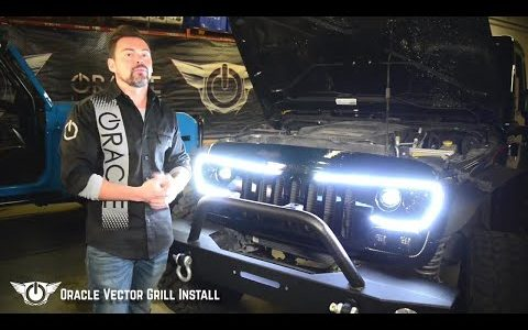 480x300 Oracle Vector Grill Install On Jeep Wrangler Jk