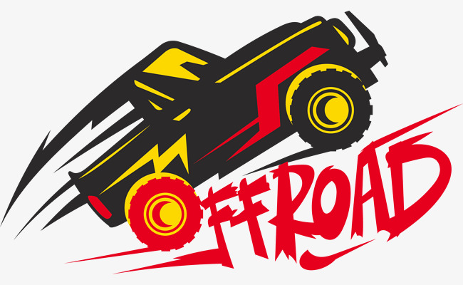650x400 Jumping Off Road Vehicle Logo, Logo Vector, Jeep, Vehicle Png And
