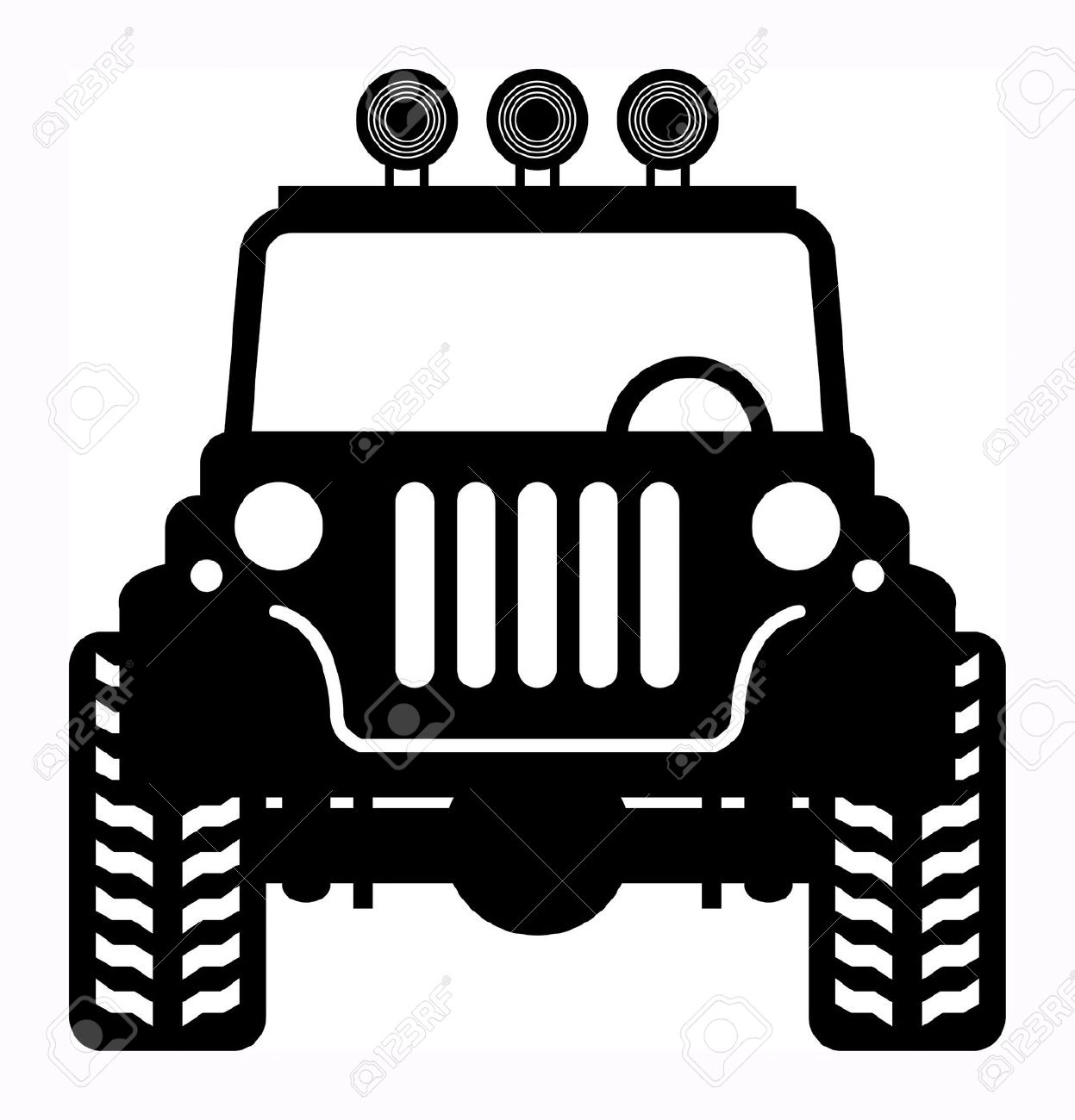 Jeep Vector Art At Getdrawingscom Free For Personal Use Jeep