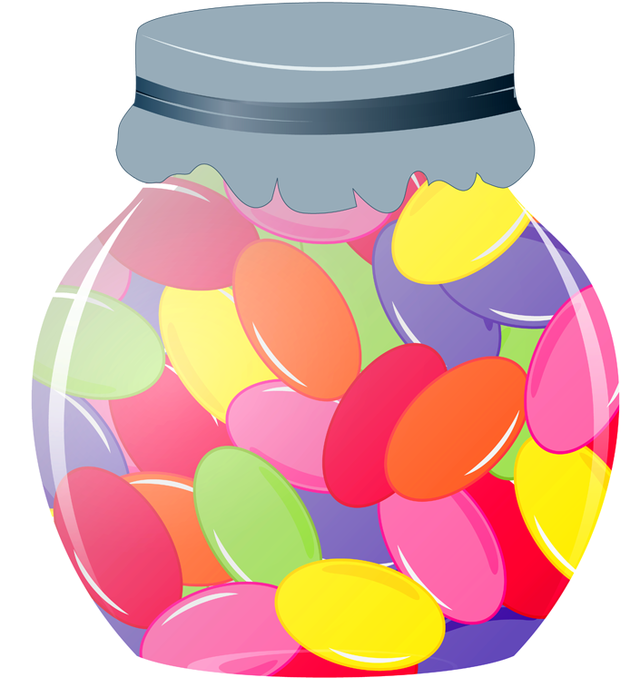 Jelly Bean Vector