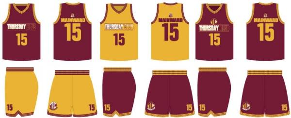 600x243 Basketball Uniform Maroon Free Vector In Adobe Illustrator Ai