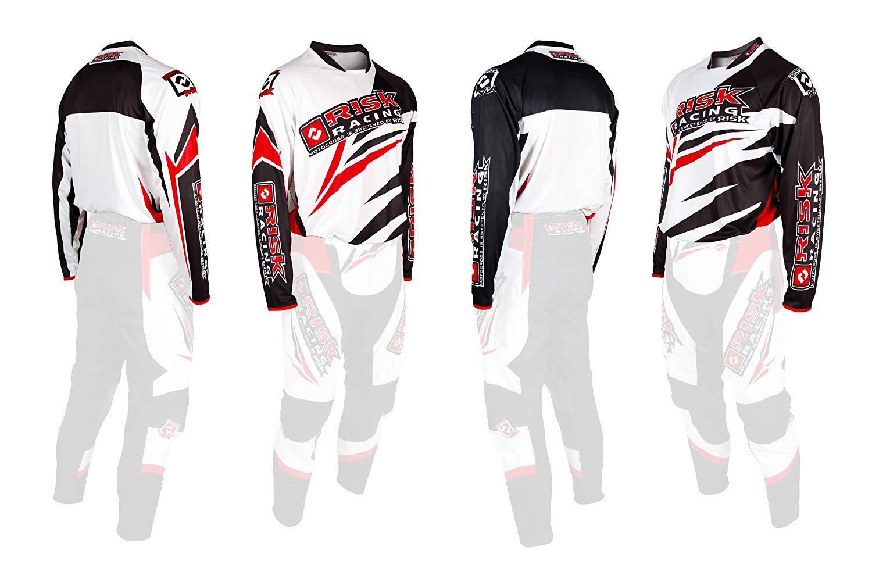 1500x1008 Risk Racing Vector Mx Motocross Jersey (Whitered