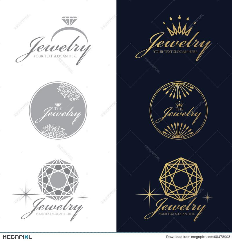 800x830 Jewelry Ring Logo. Jewelry Crown Logo. Jewelry Flower And Circle