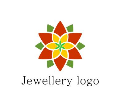389x346 Fashion Flower Jewellery Colour Art Vector Logo Download