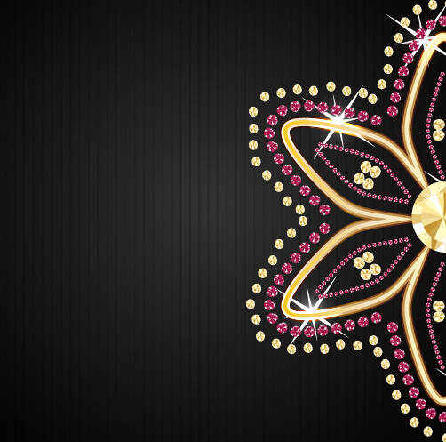 502x497 Beautiful Jewelry Vector Background Free Download