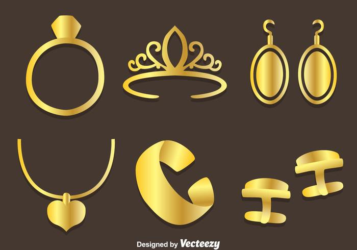 700x490 Gold Jewelry Vector