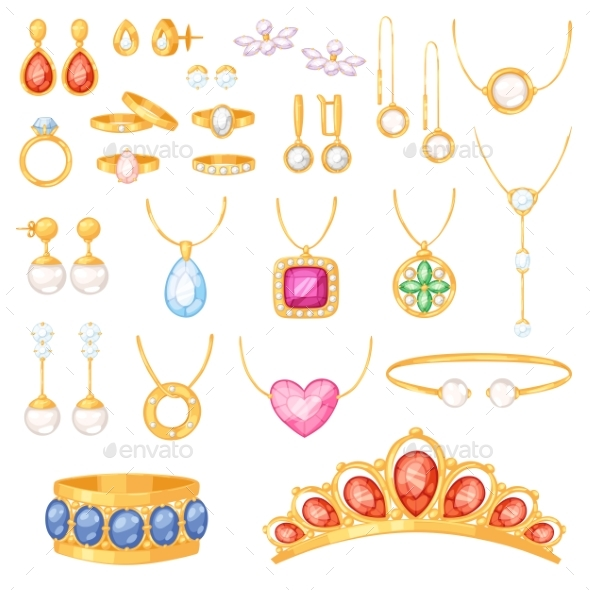 590x590 Jewelry Vector Jewellery Gold Bracelet Necklace By Pantimetrok