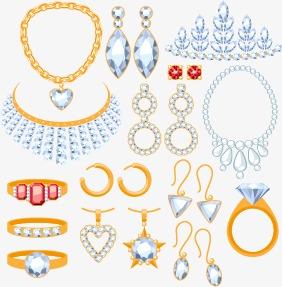 282x287 Diamond Ring Jewelry Vector Material,, Crystal, Jewelry, Jewelry