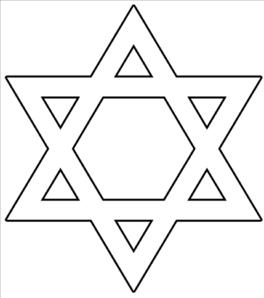 Jewish Star Vector