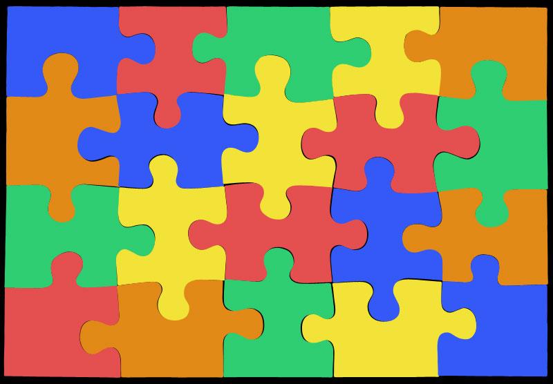800x556 Jigsaw Vector Pieces Truss Industry Arts
