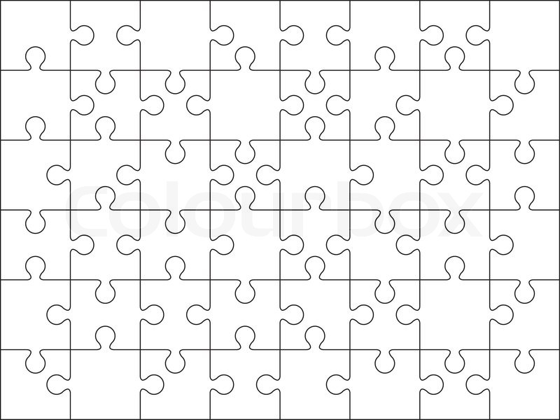 Jigsaw Vector At Getdrawings Com Free For Personal Use Jigsaw