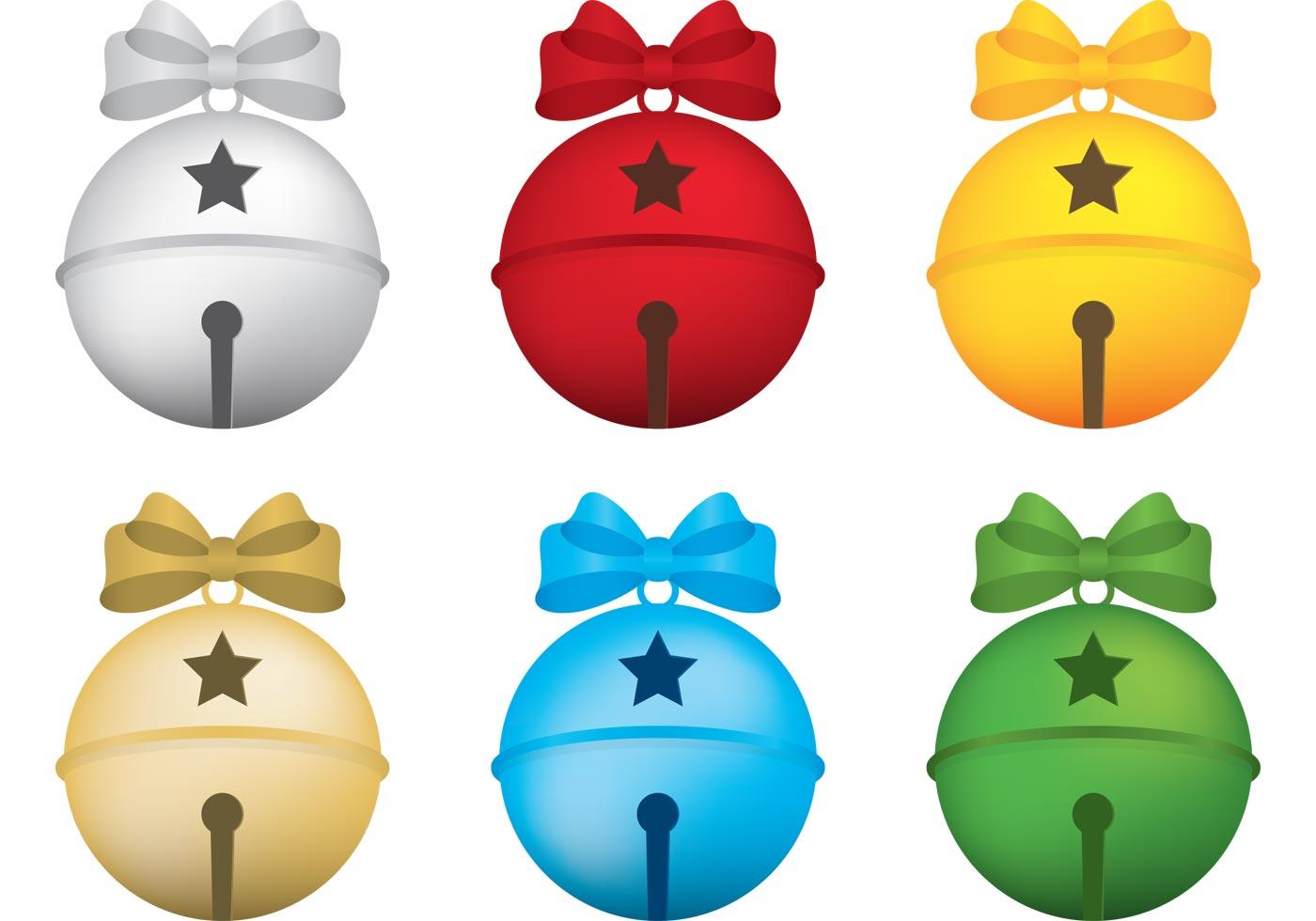 1400x980 Jingle Bell Free Vector Art