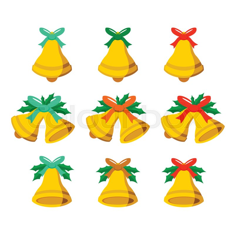 800x800 Jingle Bells Vector Vector Graphic Illustration Sign Symbol Design