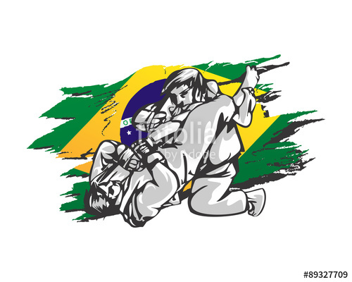 500x400 Brazilian Jiu Jitsu Stock Image And Royalty Free Vector Files On