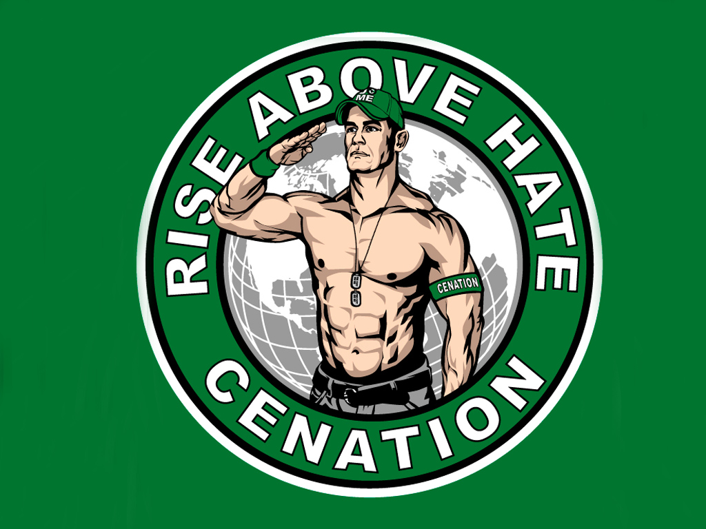 1024x768 John Cena Rise Above Hate Cenation Wallpaper All Wallpapers Desktop