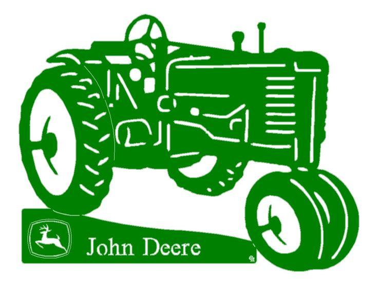 John Deere Tractor Vector