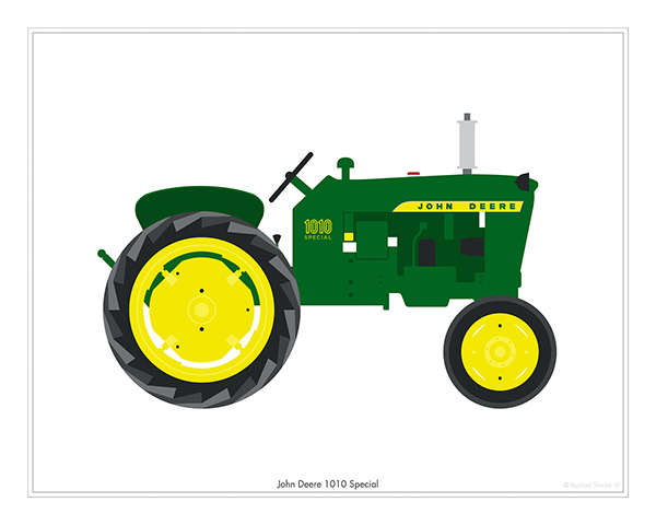 John Deere Tractor Vector at GetDrawings.com | Free for personal use ...