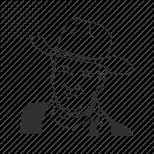 512x512 John Wayne Vector