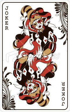 Joker Card Vector