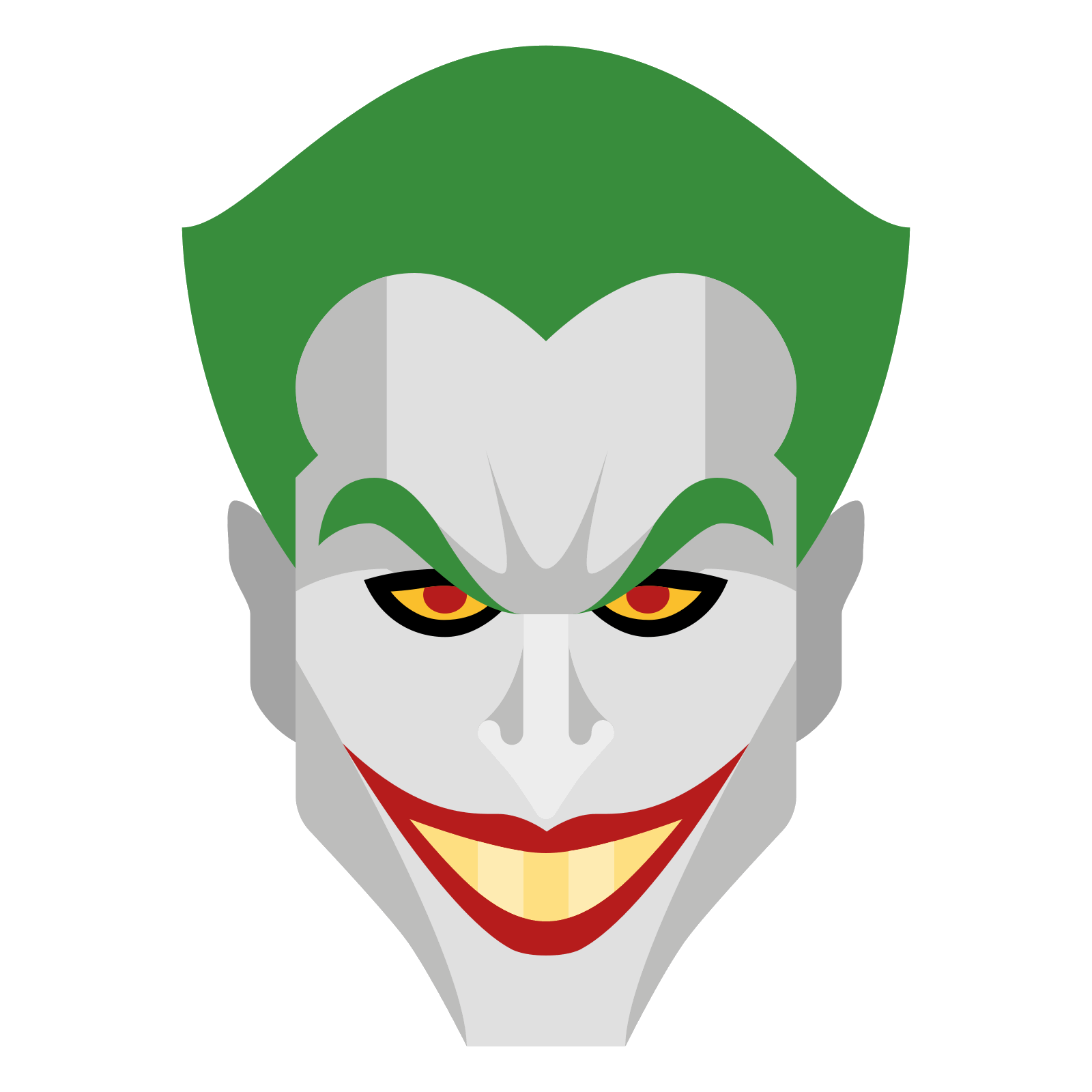 Joker Smile Vector