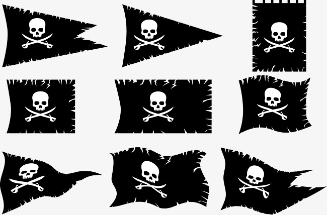 650x428 Jolly Roger, Skull, Irregular Png And Vector For Free Download