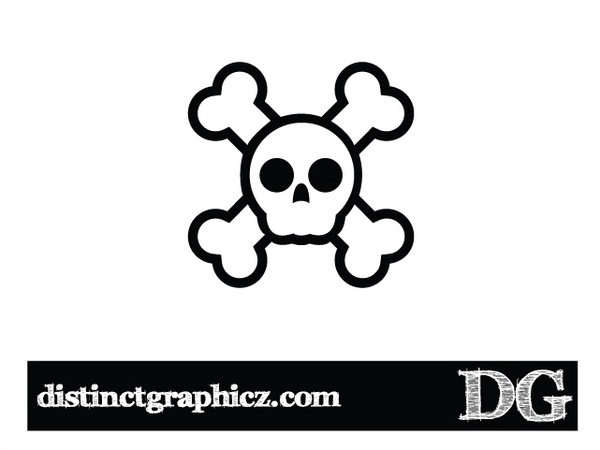 600x450 Jolly Rogers Skull Free Vector In Encapsulated Postscript Eps