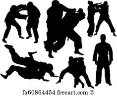 236x194 Free Judo Vector Art Prints And Wall Artwork Freeart