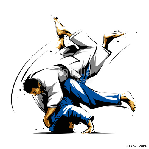 500x500 Judo Action 2 Stock Image And Royalty Free Vector Files On